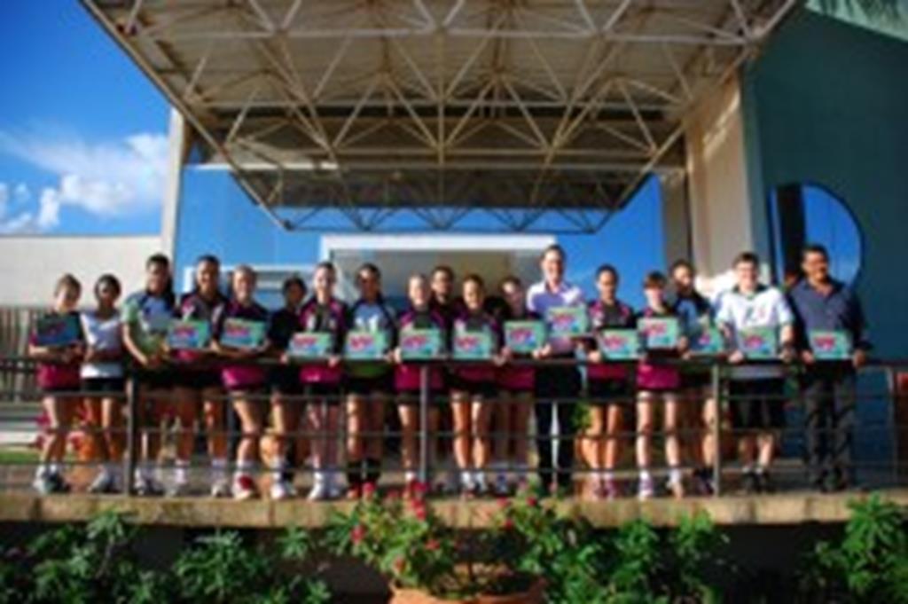 Campeãs mato-grossense de handebol são  homenageadas pela Administração Municipal