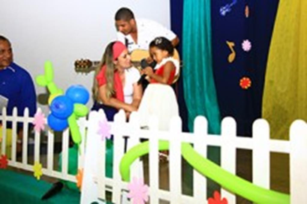 Pequenos mostram talento em evento do C. E. Amerecilda