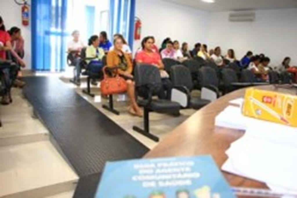 Agentes de saúde de Campo Verde iniciam treinamento