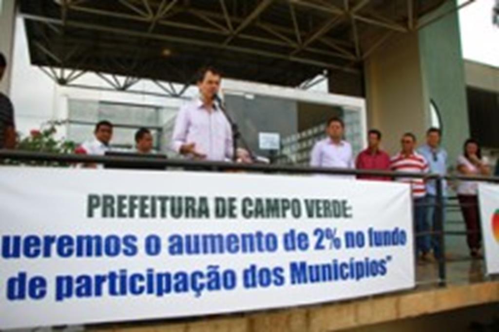 Prefeitura de Campo Verde adere à paralisação nacional
