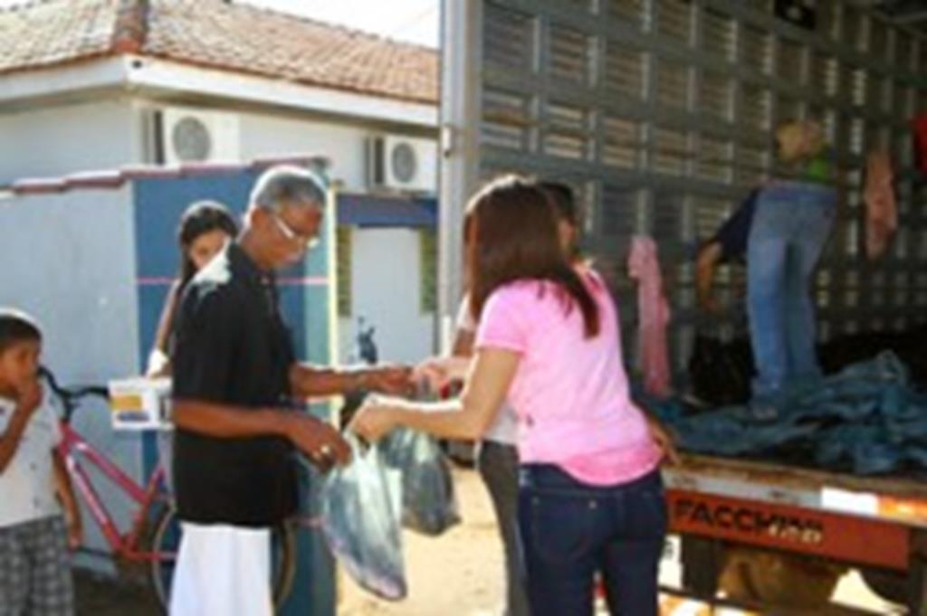 """Campanha """"Peixe Santo"""" beneficia 400 famílias em Campo Verde"""