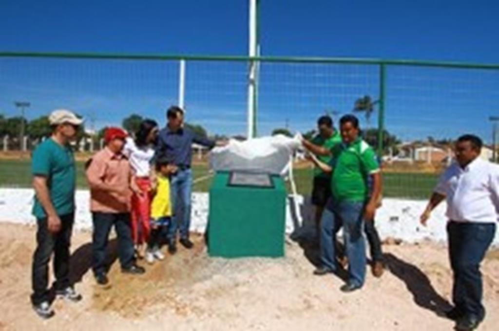 Prefeitura entrega obras de melhorias da Área de Lazer Recanto do Sol