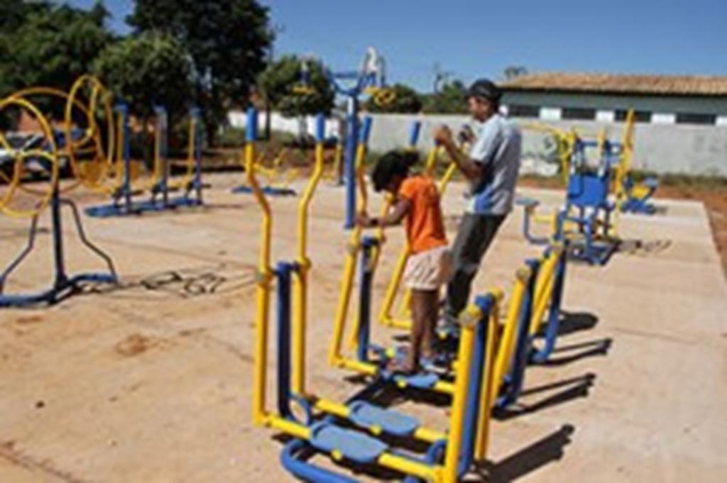 Vale do Sol e Agrovila ganham academias de ginástica ao ar livre