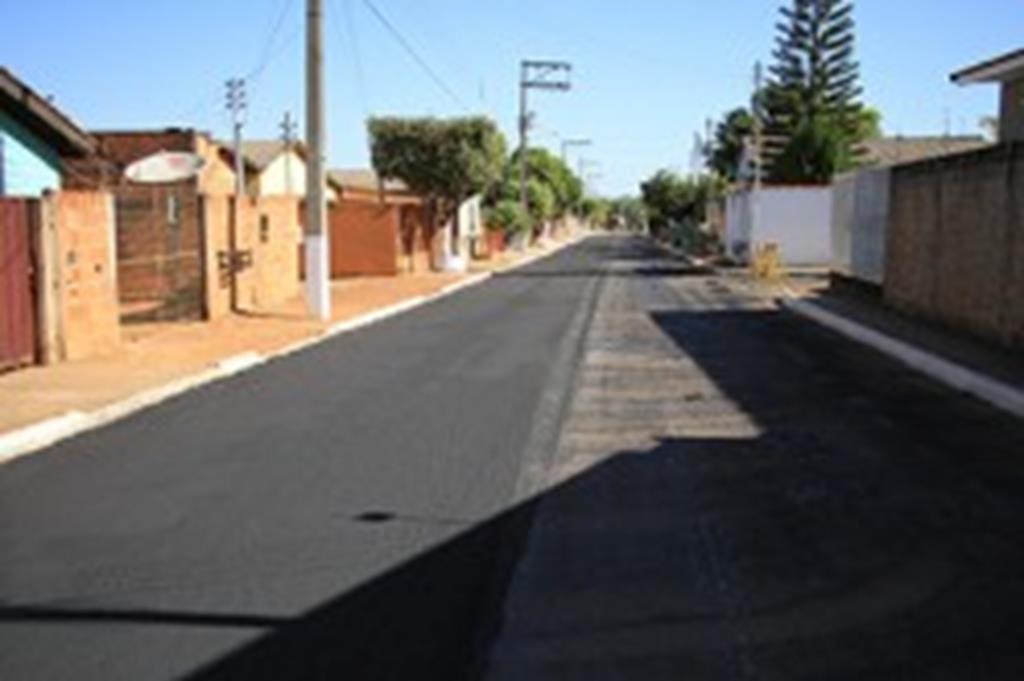Mais três bairros de Campo Verde serão recuperados com lama asfáltica