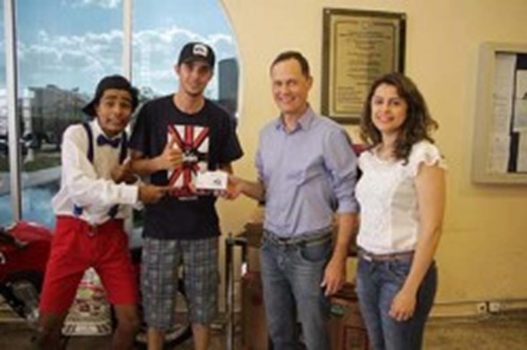 Ganhadores da campanha Minha Nota Fiscal dá Prêmio Legal