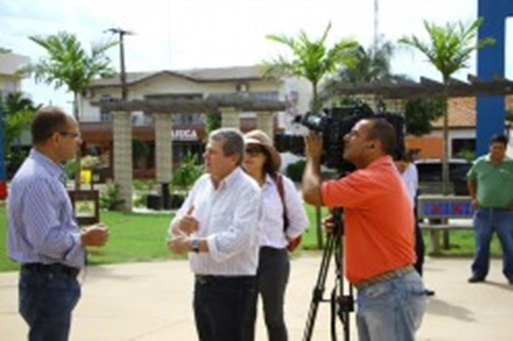 Maior rede de TV portuguesa destaca potencial de Campo Verde