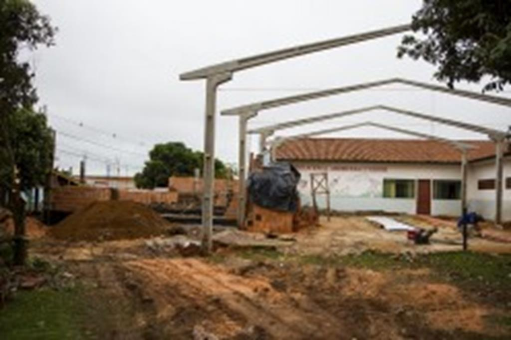 Prefeitura inicia ampliação de centro educacional e creche