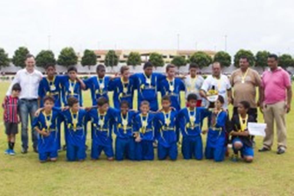 Primavera fica com o título na sub-13 da Copa Juventude