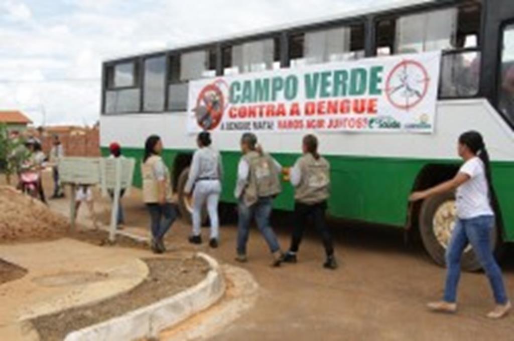 Arrastão contra a Dengue no Bairro Cidade Alta