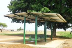 Abrigo é construído pela Prefeitura no bairro Santa Rosa