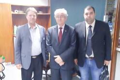 Secretário e supervisor de Projetos visitam bancada de MT no Congresso