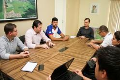 Prefeito recebe representantes da CDL de Campo Verde