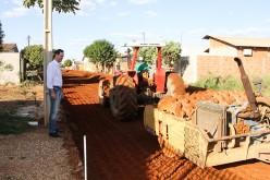 Prefeitura inicia pavimentação no Cidade Alta II e São Miguel