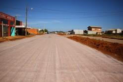 Pavimentação é concluída na Avenida Presidente João Goulart