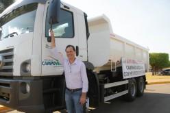 Com recursos próprios, prefeitura adquire caminhão para SMOV