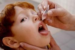Vacinação contra pólio vai até dia 9