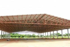 Pavilhão central é concluído no Parque de Exposição
