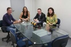 Prefeito participa de reunião com a superintendência  do Banco do Brasil sobre o Recanto dos Pássaros