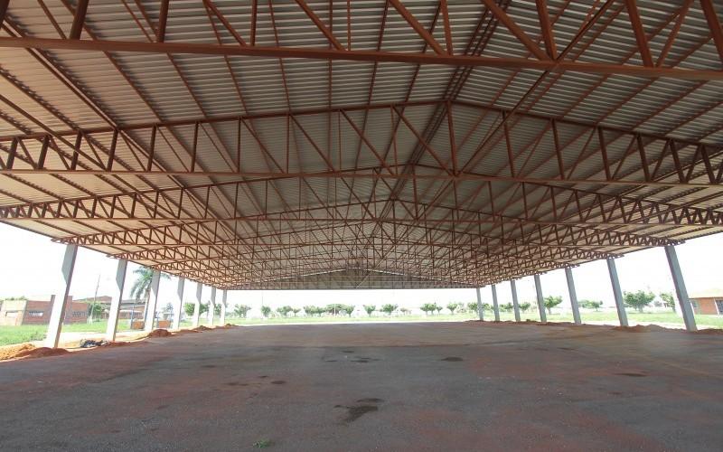 Pavilhão vai proporcionar economia na realização da Expoverde
