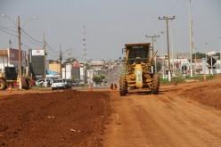 Entroncamento de avenidas com rodovia será interditado para obras de pavimentação