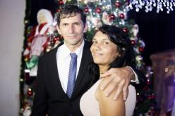 Casal usa mirante da Praça para pedido de casamento