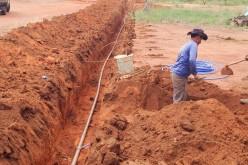 Prefeitura investe na melhoria do sistema de distribuição de água na Agrovila João Ponce de Arruda