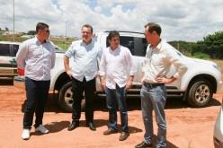 Deputado Fábio Garcia visita obras da UPA e anuncia recursos para o laboratório municipal