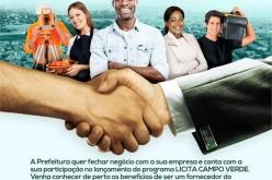 Programa Licita Campo Verde será lançado nesta terça-feira