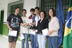 Alunos da Escola Sabina são premiados em concurso do Ministério da Saúde