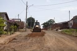 Secretaria de Obras recupera ruas no São Miguel