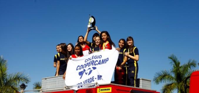 Handebol de Campo Verde disputa mais duas competições até o final do ano