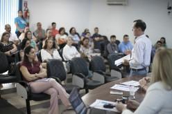 Metas trimestrais do PDI são apresentadas em reunião