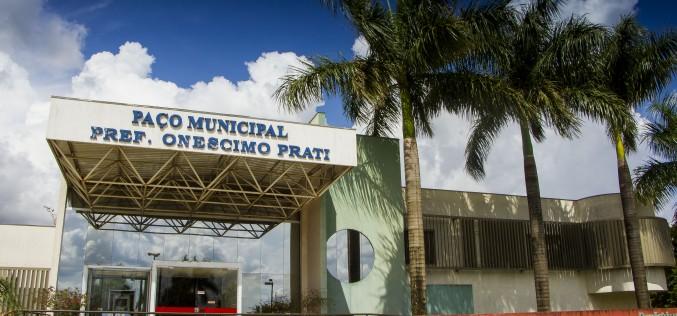 Prefeitura de Campo Verde entra em recesso a partir desta quinta-feira