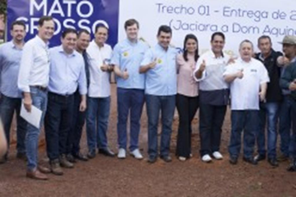Governo anuncia recuperação da MT-344 entre Dom Aquino e Campo Verde