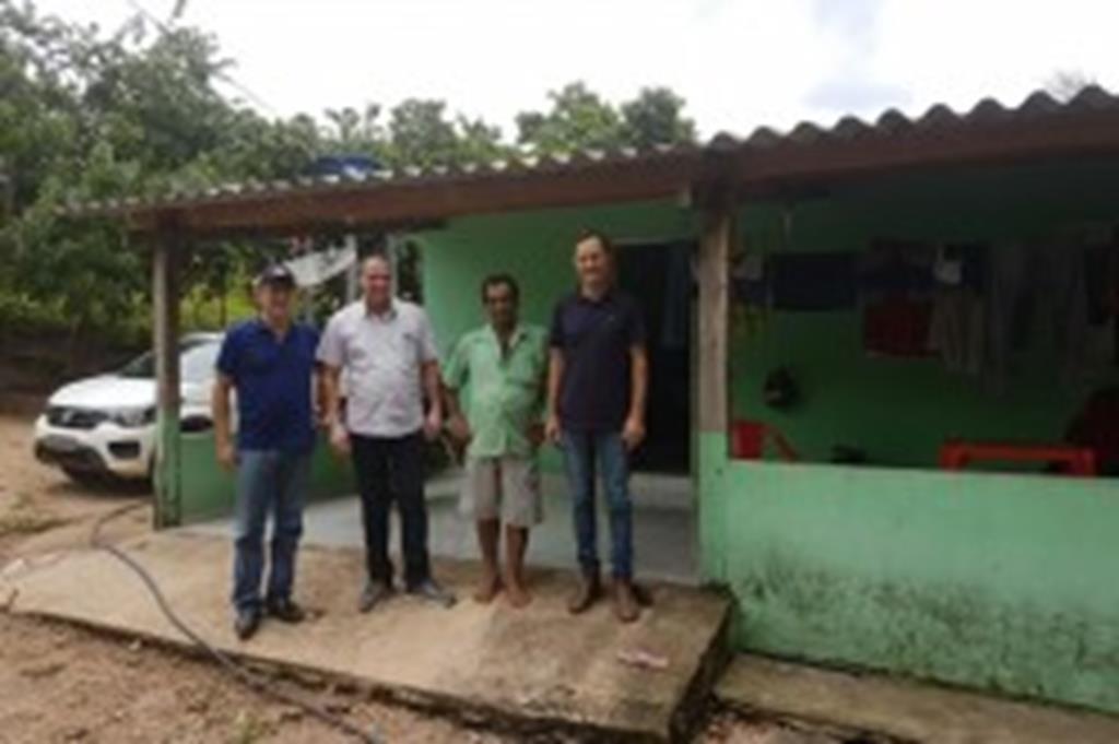 Prefeito Fábio visita comunidades do interior