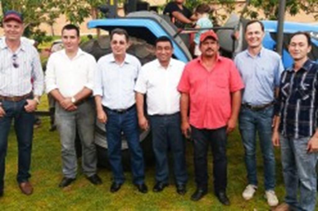Pequenos produtores do Dom Osório recebem patrulha mecanizada