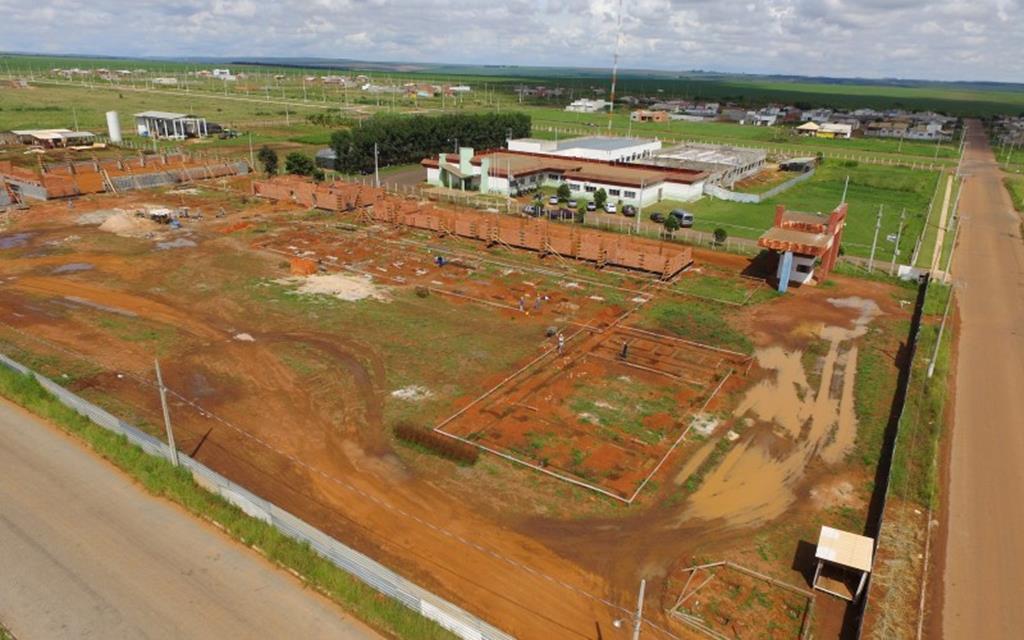 Escola Técnica Estadual de Campo Verde tem 20% das obras executados