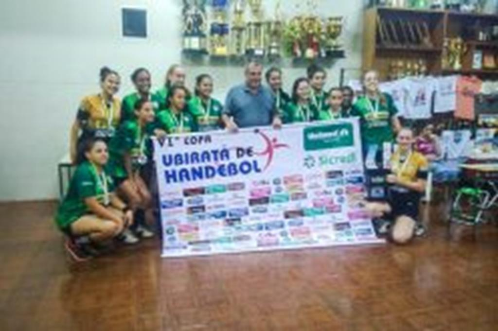 Campo Verde conquista título na Copa Ubiratã de Handebol