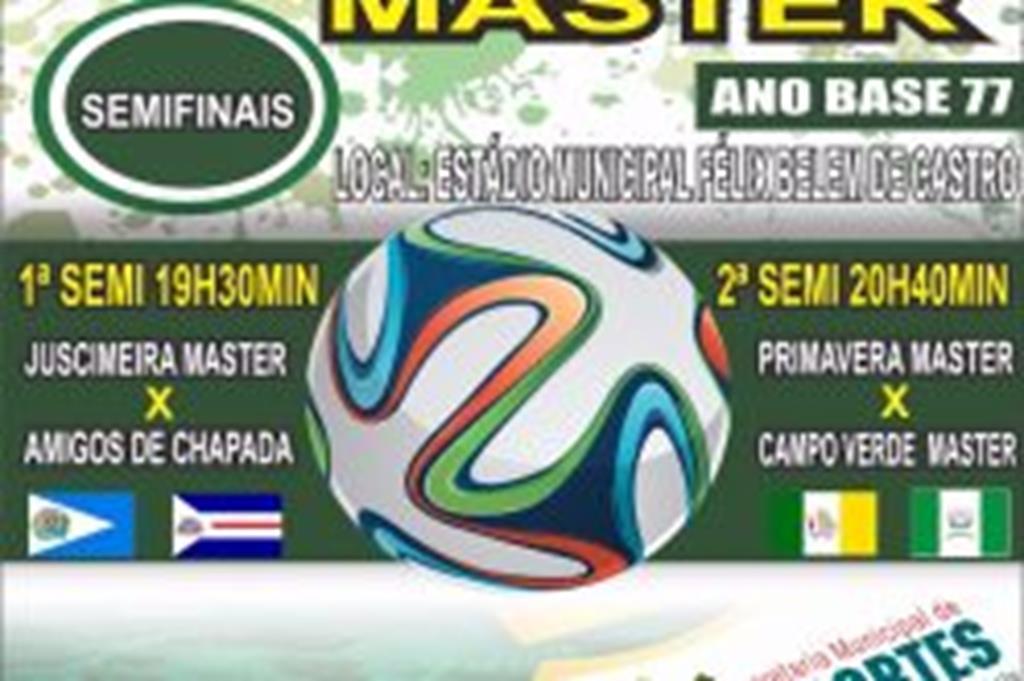 Copa Master chega à semifinal