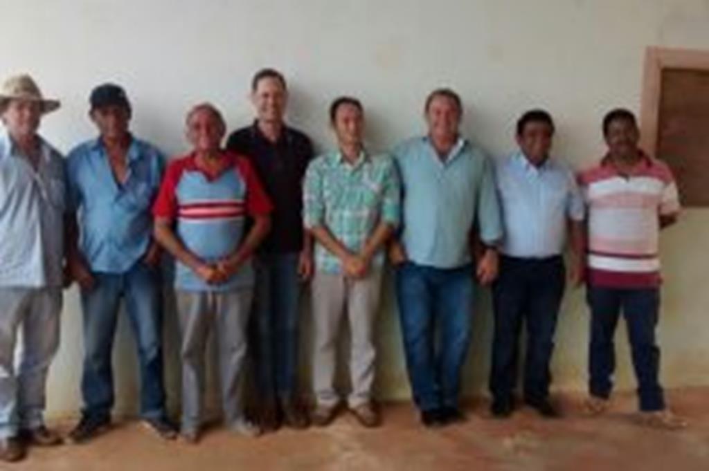 Prefeito e vereadores visitam comunidade Córrego do Ouro