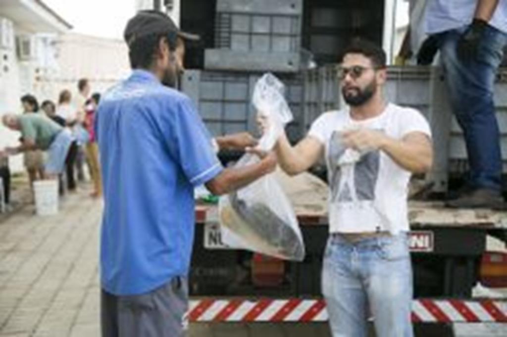 Assistência Social distribui 1,2 tonelada de peixe à famílias de Campo Verde