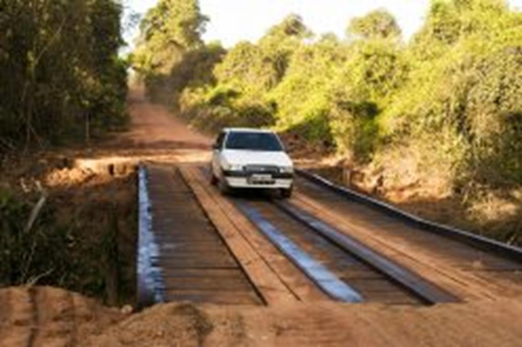 Obras são concluídas e ponte de acesso ao Capim Branco é liberada para o tráfego