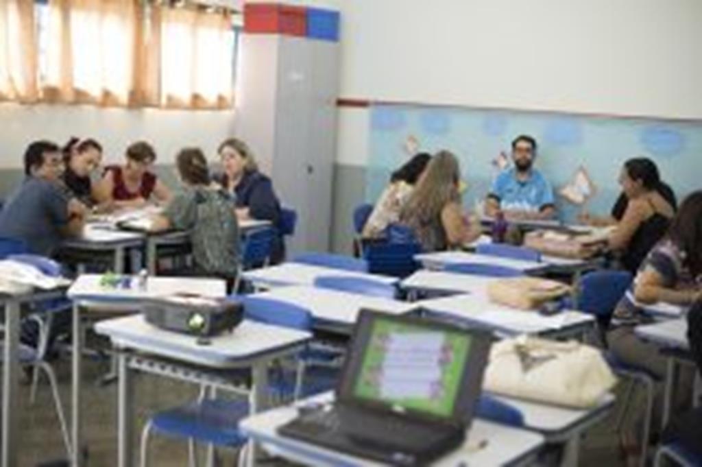 Professores municipais participam de cursos de capacitação
