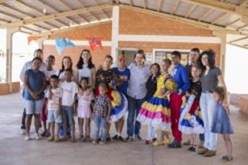 Secretário estadual de Cultura conhece Ponto de Cultura em Campo Verde