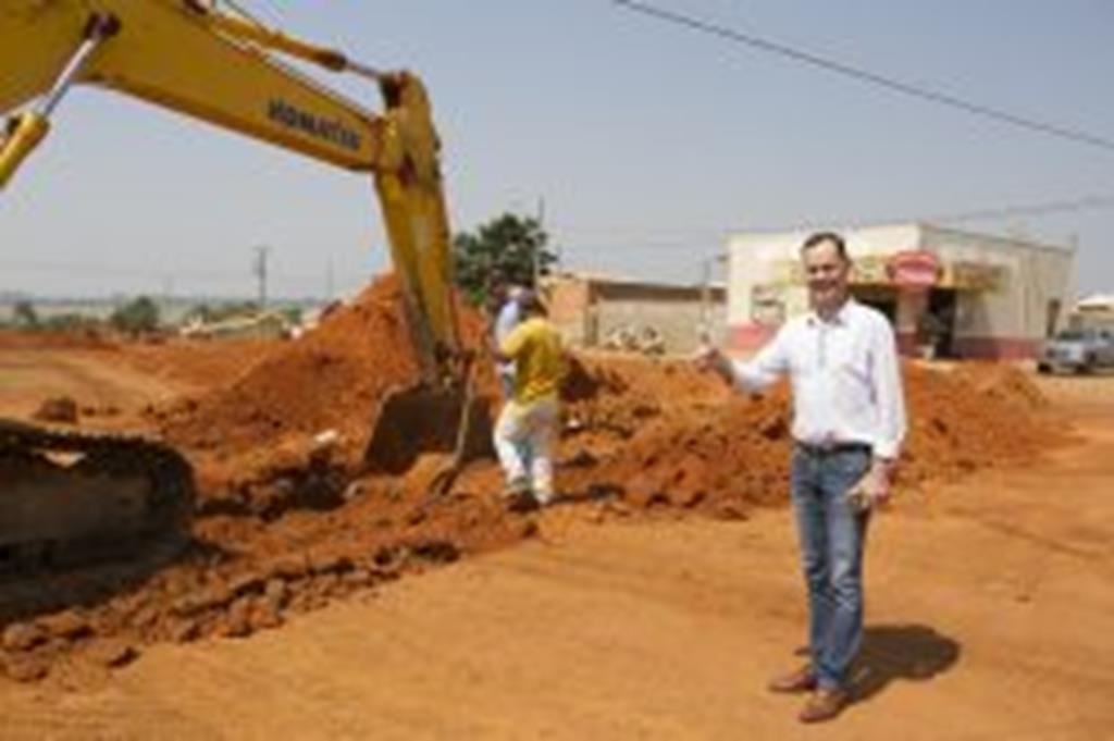 Parceria com o Governo do Estado pode garantir 60 mil  metros quadrados de pavimentação para Campo Verde
