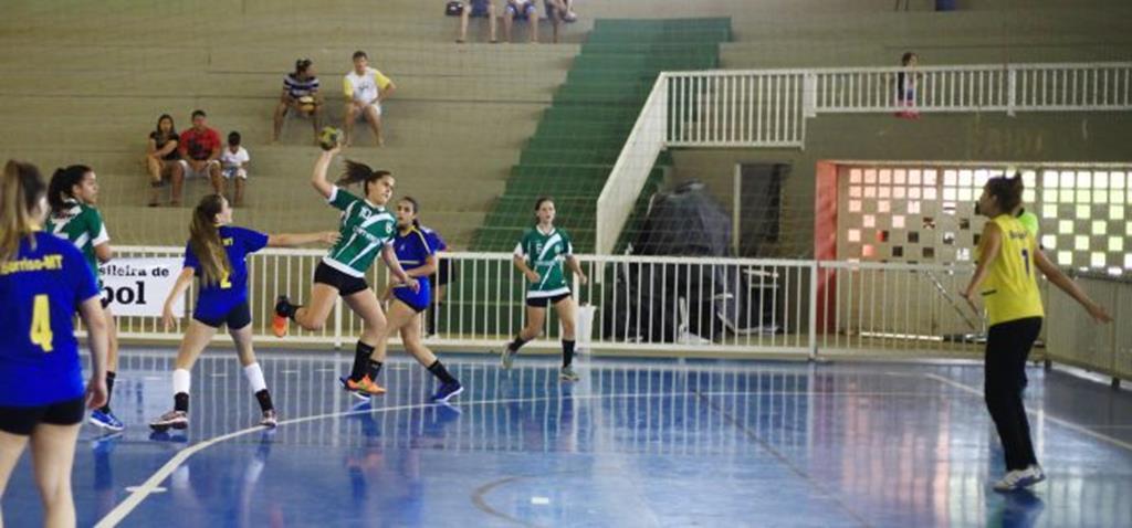 Handebol feminino de Campo Verde disputará a fase nacional do JEJ´s