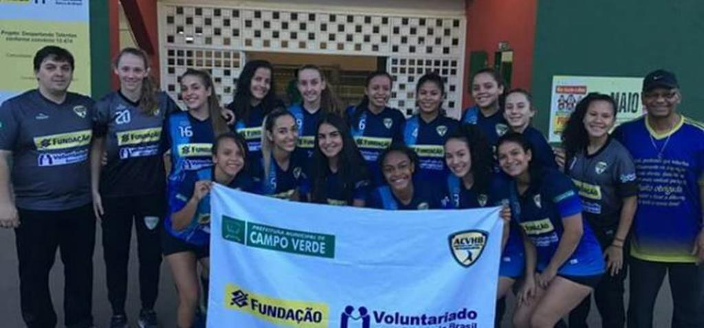 Handebol de Campo Verde embarca segunda para o Brasileiro Cadete de Handebol