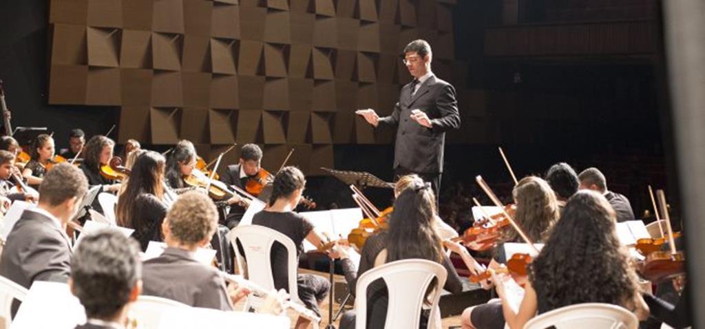 Apresentação em Cuiabá demonstra evolução técnica da Orquestra Sinfônica de Campo Verde