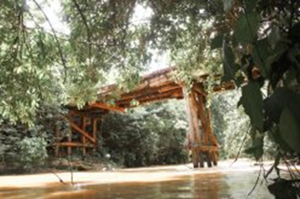 Ponte sobre o Peraputanga será interditada para reforma