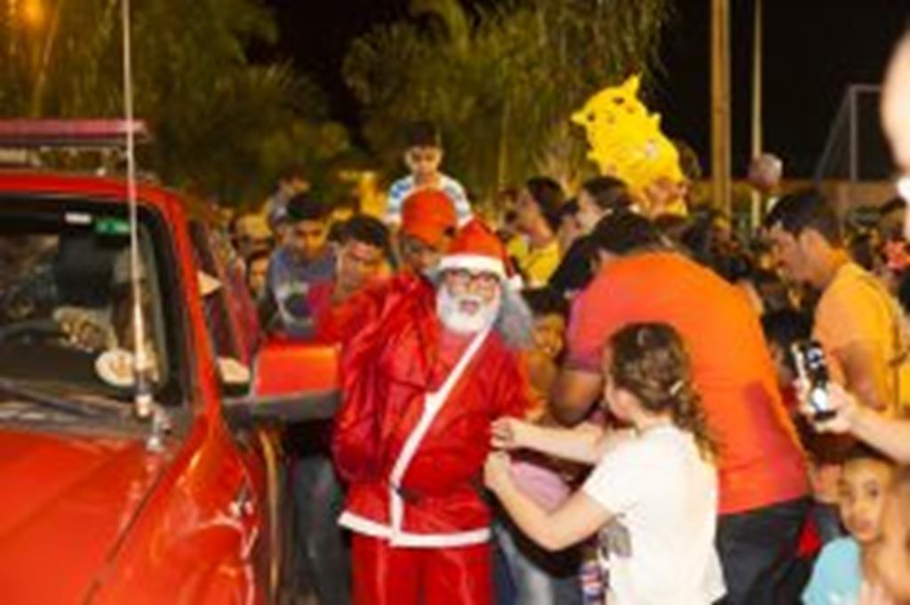 Papai Noel chega dia 1º a Campo Verde